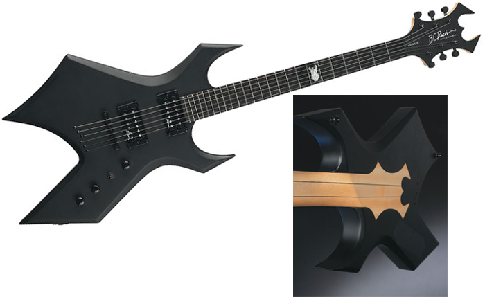 Купить B.C.RICH IT Warlock - Shadow - SEWGITS :: Электрогитары Warlock