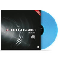 NATIVE INSTRUMENTS Traktor Scratch Pro Control Vinyl Fluoresce Blue
