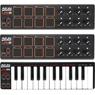 Коллекция Миниатюрные MIDI-контроллеры AKAI - 3 наименований стоимостью от 5200 до 9900 рублей.