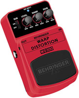 Педали Overdrive и Distortion BEHRINGER