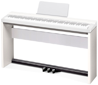 Стойка для цифрового пианино CASIO PX-130, белого цвета.