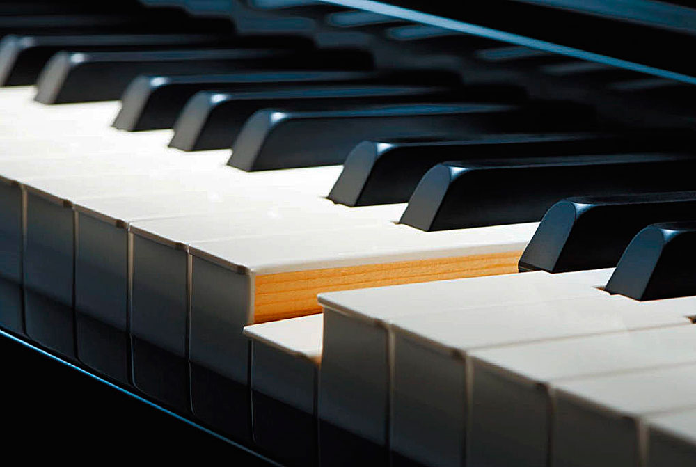 Отделка поверхности клавиш: материалы, которые применяются при изготовлении концертных роялей