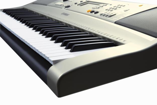 Вид сбоку на клавиши