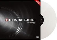 NATIVE INSTRUMENTS Traktor Scratch Pro Control Vinyl White