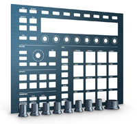 NATIVE INSTRUMENTS Maschine Mk2 Custom Kit Steel Blue