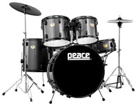 PEACE DP-101BK-22 Black
