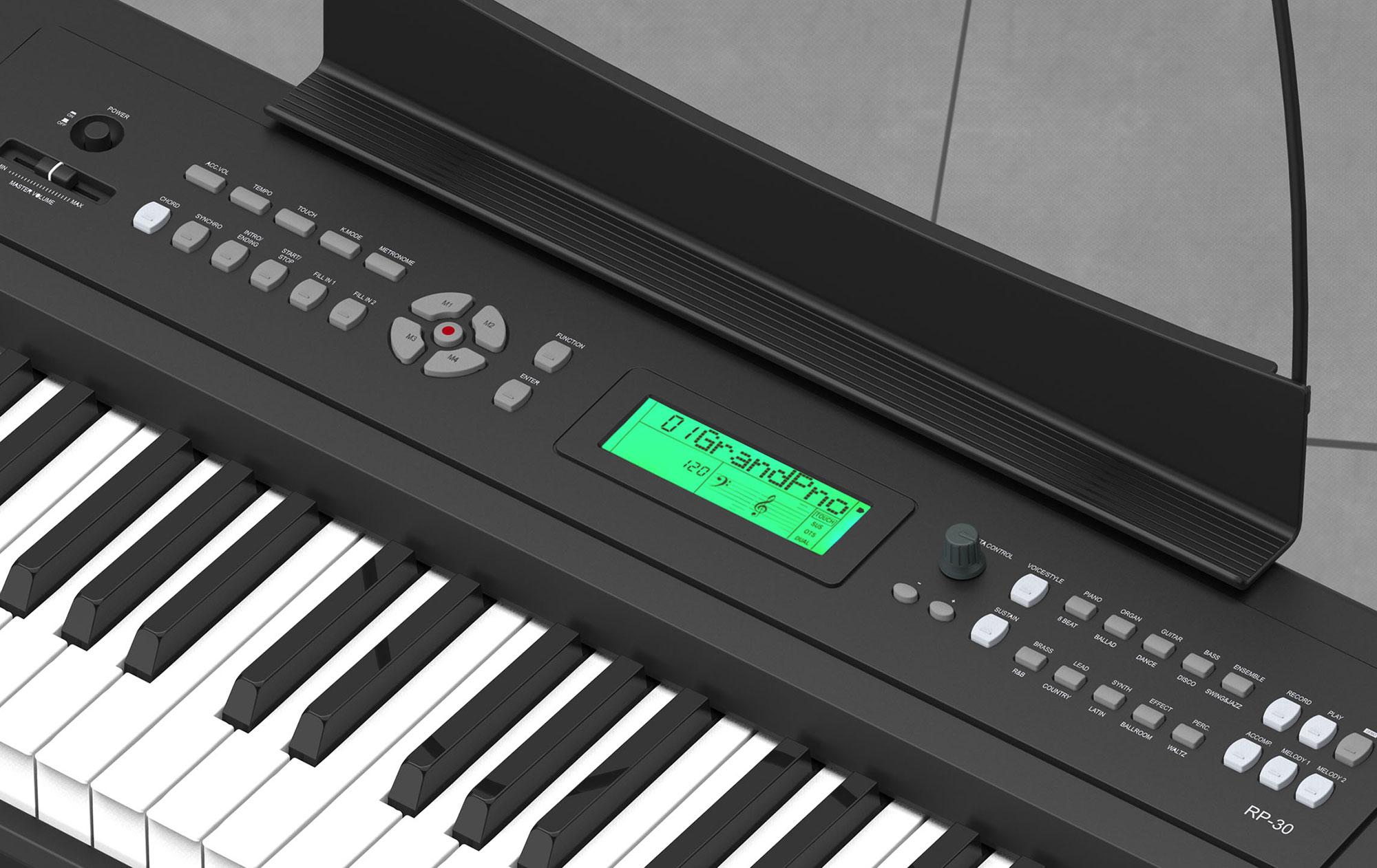 Мульти-функциональный LCD дисплей