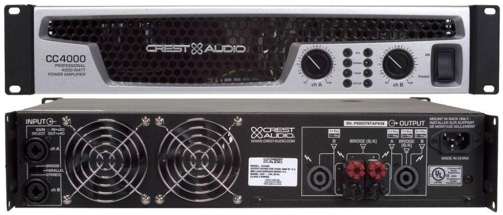 CREST_AUDIO СС4000