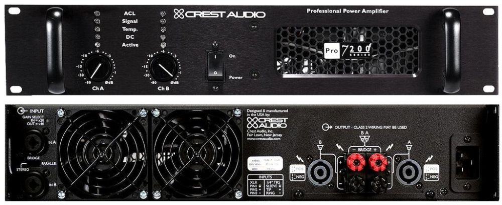 CREST_AUDIO Pro 7200