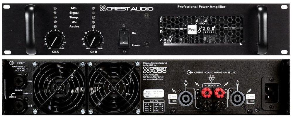 CREST_AUDIO Pro 8200