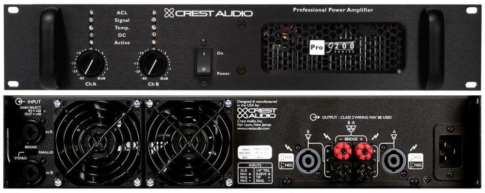 CREST_AUDIO Pro 9200