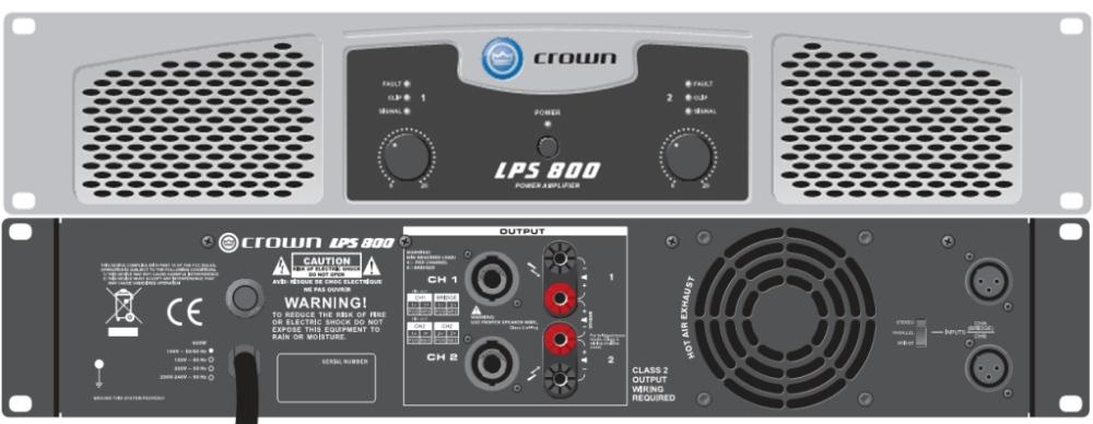 Crown Lps 800