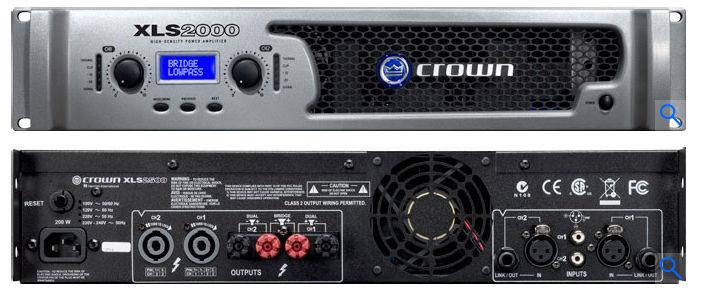Crown Xls 2000