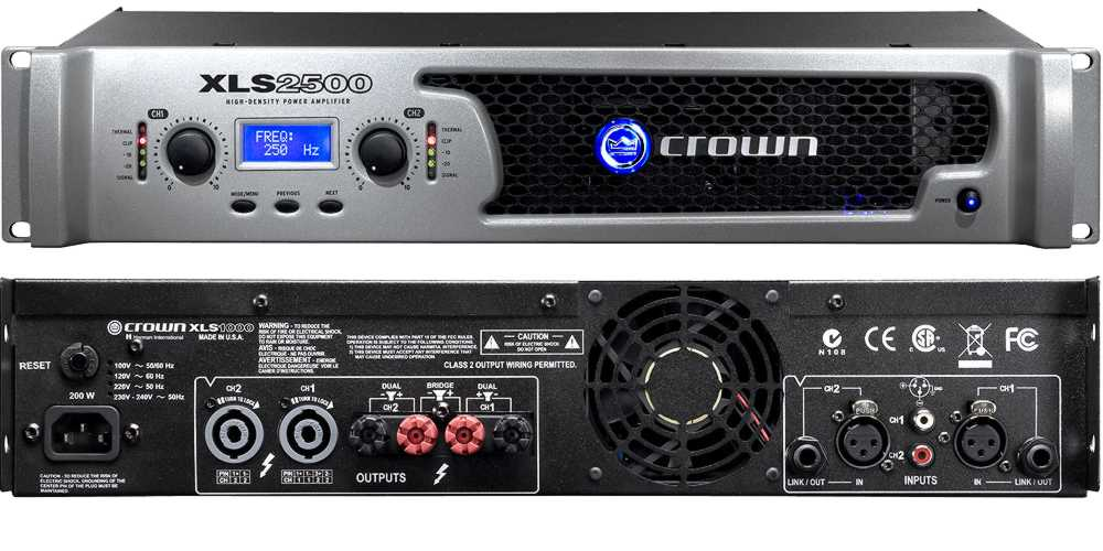 Crown Xls 2500