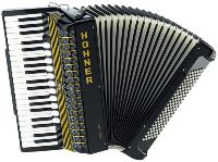 HOHNER Atlantic IV 120 M, Musette, black