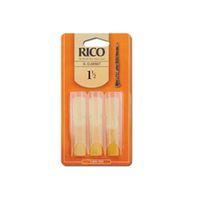 RICO Bb Clarinet Reeds, Str 2.0, 3-шт