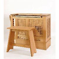 SKRABL Box organ 8' +4' classic, 2 stops C-g'''