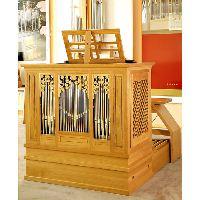 SKRABL Box organ classic,  4 stops C-g''' bass/diskant