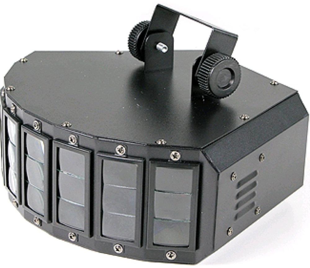 INVOLIGHT NL410 LED световой эффект, светодиоды: 5 шт. по 3 Вт, цвет RGBWY, DMX-512, звуковая активация