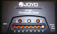 JOYO JT-36C LED chromatic tuner