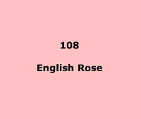 LEE FILTERS 108 English Rose/половина листа