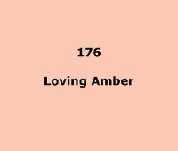 LEE FILTERS 176 Loving Amber/половина листа