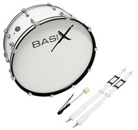 BasiX Marching Bass Drum 24 x 12 P/U 1