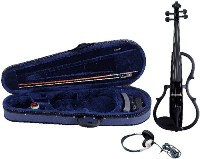 GEWA E-violin Gewa line Black colour finish