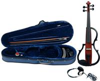 GEWA E-violin Gewa line Red brown transparent varnish