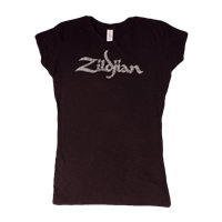 ZILDJIAN WOMEN'S BLING T BLACK M