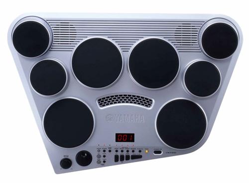 YAMAHA DD-65 Yamaha DD-65 цифровая барабанная установка с реалистичными звуками и разнообразными предварительно запрограммированными стилями песен, портативная DD-65 является идеальным помощником для практики барабанщиков- неофитов.