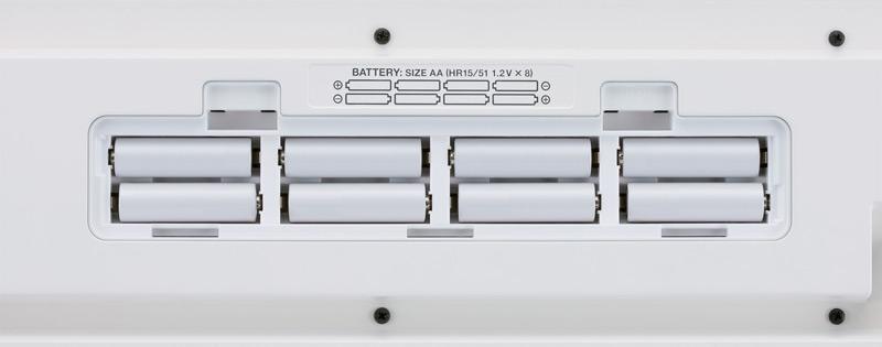 Возможность использования пальчиковых батареек
