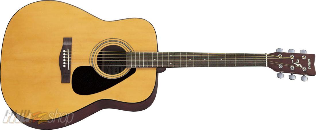 YAMAHA F-310 Шестиструнная акустическая гитара Yamaha F310 с топом из древесины ели – это качественная акустическая фолк-гитара, идеальная для начинающих.