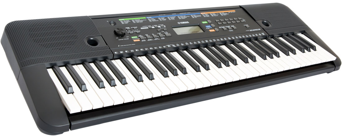 YAMAHA PSR-E253 Синтезатор. с автоаккомпониментом, 61 клавиш, полифония 32 нот, 372 тембов, 100 стилей, дополнительный вход AUX IN